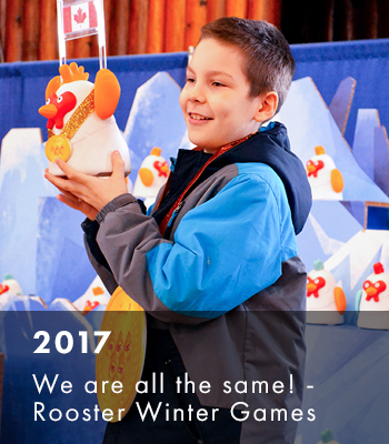 2017 LF History_We are all the same! Rooster Winter Games
